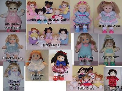 My Child Doll Clothes Patterns ONE pattern of your choice Sew fun!