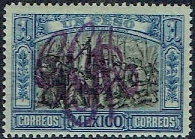 Mexico. 1914. Carranza Villa.opt.in Violet Gcm Mnh As Is See Scan