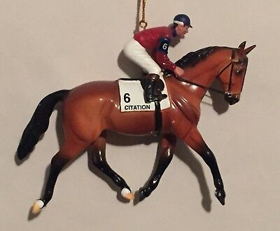 Breyer Horse Xmas Holiday Ornament Citation Retired Very Good SEE PHOTOS