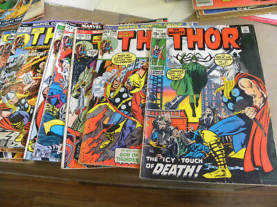 Marvel 1971 17 issues THE MIGHTY THOR #189 to #270 qq plus #300 Anniversary