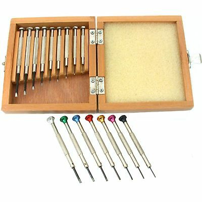 16 Precision Screwdrivers Watchmakers Repair Hobby Craft Hand Tools Watch Maker
