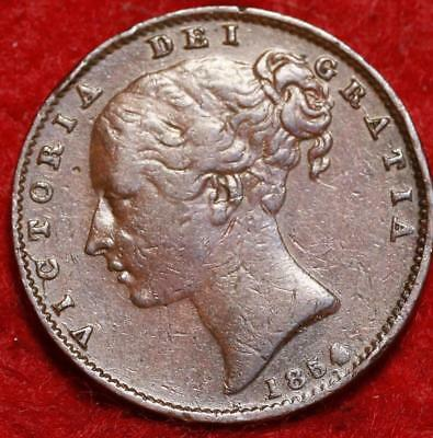 1854 Great Britain Farthing Foreign Coin