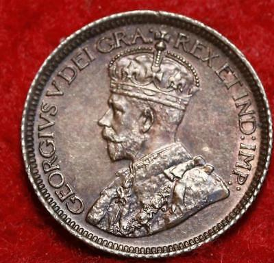 1919 Canada 10 Cents Silver Foreign Coin