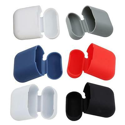 Silicone Shock Proof Protective Cover Case Slim Skin For Apple AirPod Earphone D