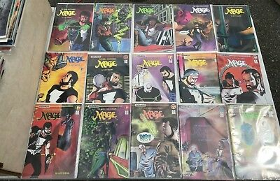 1984-86  COMICO MAGE THE HERO DISCOVERED BY MATT WAGNER #1-15 Complete Set