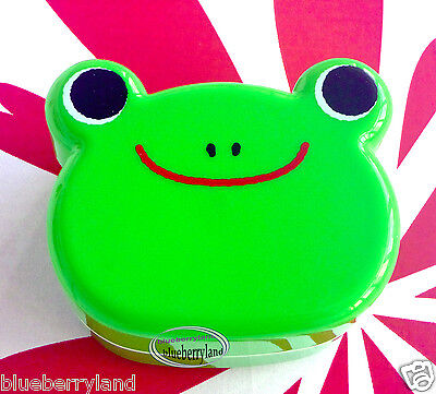 Bento Lunch Box Set FROG shaped Food Container snack case Ladies kitchen Green
