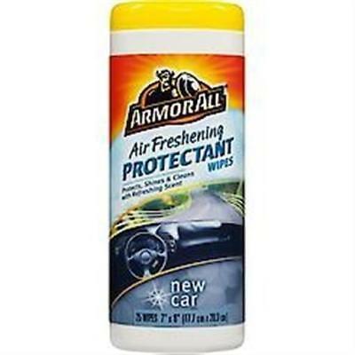 ARMOR ALL 78533 Freshening Protectant Wipes New Car 25-Pack
