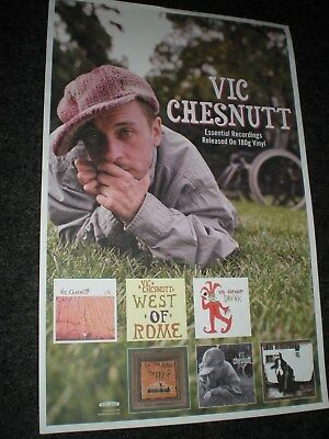 POSTER by vic chestnutt west of rome promo #