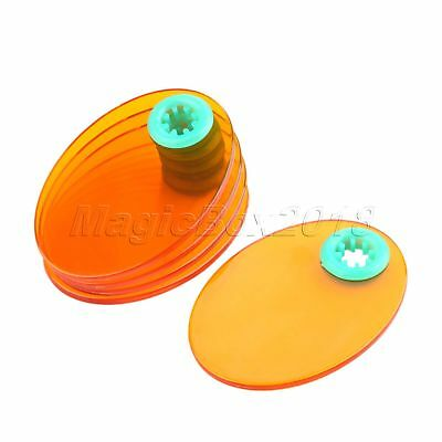 Oval Dental Shield Plate Shade for All Dental Curing Light Replacement 5cmx7cm
