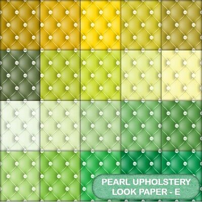 Quilted Pearl Look  Scrapbook Paper - E - 20 A4 Pages