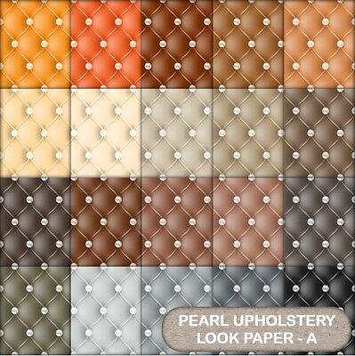 Quilted Pearl Look  Scrapbook Paper - A - 20 A4 Pages