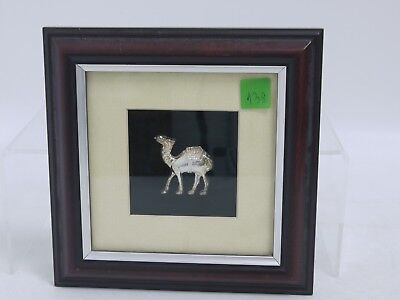 Framed  metal camel picture  (MM138)