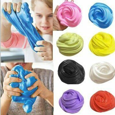 Fluffy Floam Slime Scented Stress Relief For Kids Toy No Borax Sludge Toy Gifts