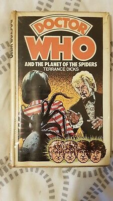 Doctor Who Hardback Planet Of The Spiders