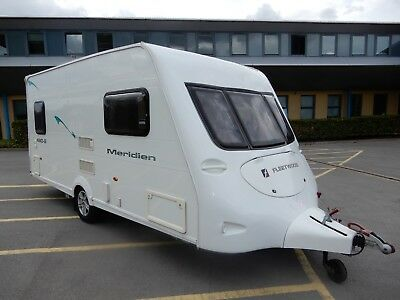 Fleetwood Meridian 480-2 2 Berth End Washroom 2008 Caravan For Sale