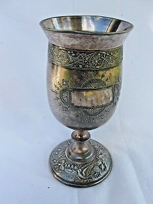 Antique Silverplate Chalice