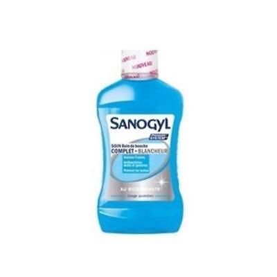 Sanogyl Bain De Bouche + Blanchiment - 500 Ml 1256717