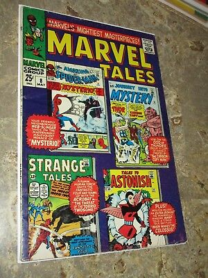 Marvel Tales #8 Silver Age Spider-man 1st Mysterio Story Thor Wasp Antman