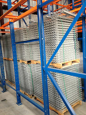 Wire Decks (Made In USA) for Pallet Racking All Sizes to meet your needs.