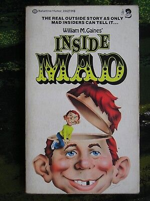 Inside Mad Mad Magazine Paperback