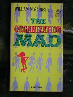 The Organization Mad Mad Magazine Paperback