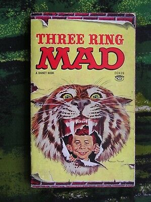 Three Ring Mad Mad Magazine Paperback
