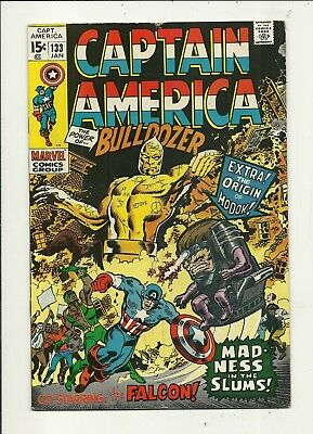Captain America # 133 Very Good/Fine Condition!!! Affordable!!!