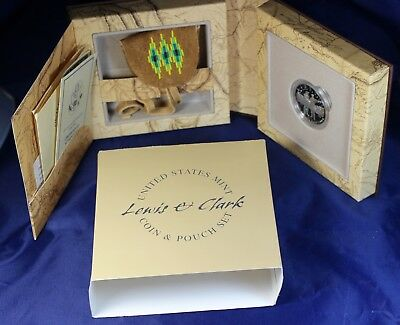 2004  Lewis & Clark  Coin and Pouch Set