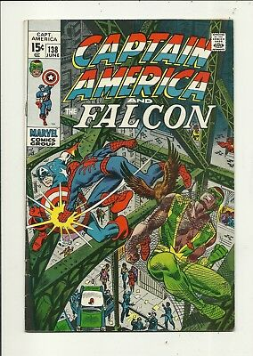 Captain America # 138 Spider-Man!! Fine Minus Condition!!! Affordable!!!