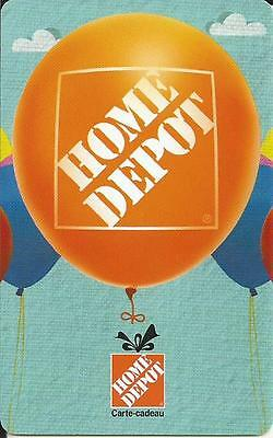 Balloons Mint Gift Card From Home Depot Canada French Only No Cash Value