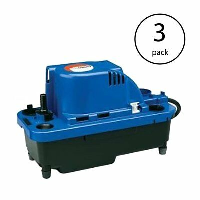 Little Giant VCMX-20ULS 1/30 HP Automatic Condensate Removal Pump (3 Pack)