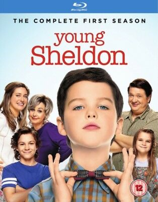 NEW Young Sheldon Season 1 Blu-Ray