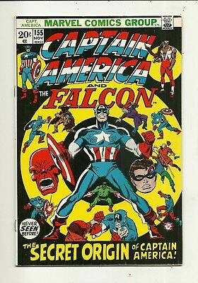 Captain America # 155 Fine Plus Condition!!! Affordable!!!
