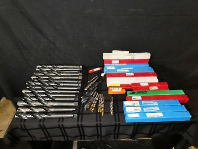 Lot Of 15 Various Size Morse Taper Shank Drill Bits, Machinist Tools Lot (390)