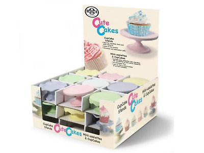 27 BIA Individual Ceramic Cupcake Stands In Various Colours + Designs