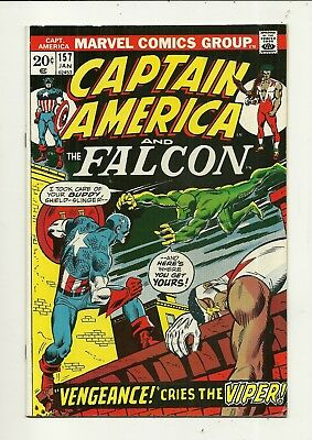 Captain America # 157 Very Fine Minus Condition!!! Affordable!!