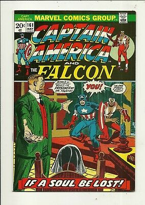 Captain America # 161 Very Fine Minus Condition!!! Affordable!!