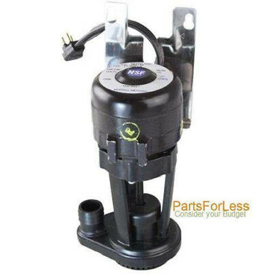 New 7623063 Manitowoc OEM 115v Water Pump, for Q, J, and B Series- 76-2306-3