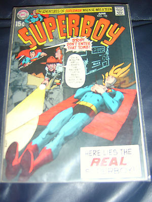 Superboy #166 June 1970 (VF-) Bronze Age - Neal Adams cover