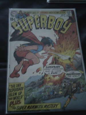 Superboy #167 July 1970 (VF-) Bronze Age - Neal Adams cover