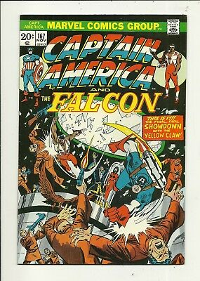 Captain America # 167 Very Fine Minus Condition!!! Affordable!!