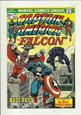 Captain America # 171 Black Panther!!! Very Fine/Near Mint Condition!!!