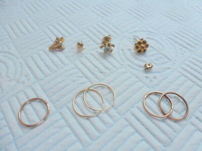 Mixed Lot of Vintage Jewellery Some Gold