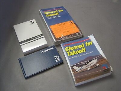 5e21bfb1d4d Cessna 172R Skyhawk Manuals Cleared For Take off Handbook   Software  Package VGC