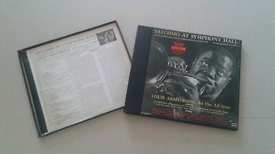 Awesome Autographed Louis Armstrong & Velma Middleton Record Set Satchmo Decca
