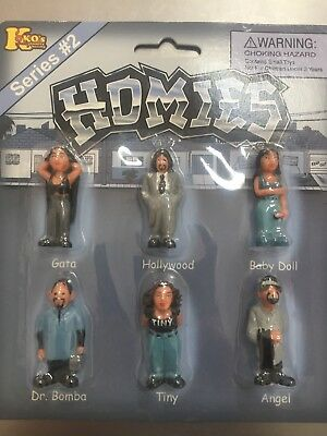 New in original package Lot of 6 Original Set  HOMIES Figures