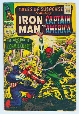 August 1966 Tales Of Suspense Iron Man Captain America No. 80 Comic Book