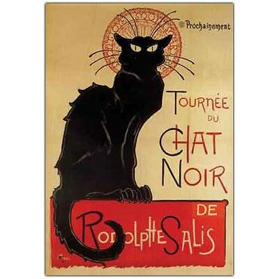 Tournee du Chat Noir by Theophile A. Steinlen-Framed 24x32