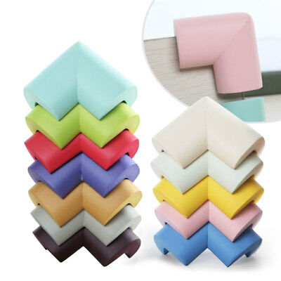 10X 90degree Table Edge Corner Soft Foam Protector Cushion For Baby Kids Safety