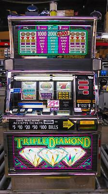 Igt S-2000 Reel Slot Machine: Triple Diamond